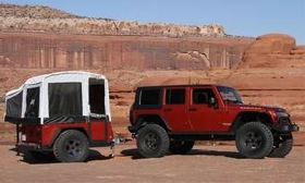 The Jeep Extreme Trail Edition camper is $11,995. (Photo courtesy of Jeep.)