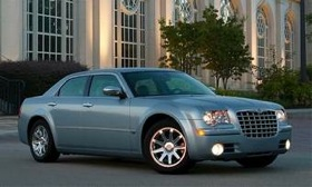 A redone Chrysler 300 is part of Chrysler's future product plans. The current model is shown. (Photo courtesy of Chrysler.)