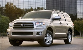The Toyota Sequoia. (Photo courtesy of Toyota.)