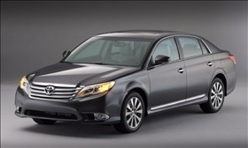The Toyota Avalon. (Photo courtesy of Toyota.)