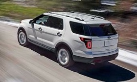 The front-drive 2011 Explorer is built on the same unibody platform as the Taurus sedan and Flex crossover. (Photo courtesy of Ford Motor Company.)