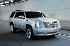 Cadillac Escalade Platinum. (Photo Courtesy of General Motors)