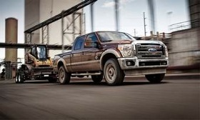 The 2011 Ford F-Series Super Duty. (Photo courtesy of Ford.)