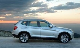2011 BMW X3. (Photo courtesy of BMW.)