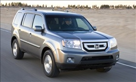 The 2010 Honda Pilot. (Photo courtesy of Honda.)