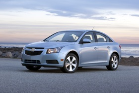 The Chevrolet Cruze. (Photo courtesy of Chevrolet.)