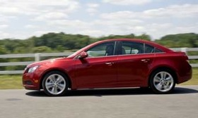 Chevrolet launches the Cruze sedan this fall. It eventually will replace the Cobalt in Chevy's lineup. (Photo courtesy of Chevrolet.)