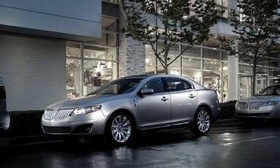 Ford is expected to reskin the Lincoln MKS sedan late next year or early in 2012. The 2011 version is shown. (Photo courtesy of Lincoln.)