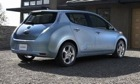 The Nissan Leaf. (Photo courtesy of Nissan.)
