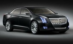 Cadillac will put the XTS sedan into production for the 2012 model year but is also working on a larger, rear-drive car to be its flagship. (Photo courtesy of General Motors.)