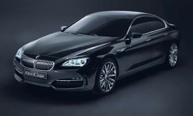 BMW's Gran Coupe, a rival for the Mercedes-Benz CLS, the Audi A7 and the Porsche Panamera. (Photo via AutoWeek.)