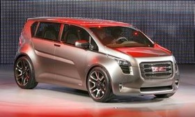 A production vehicle based on the GMC Granite concept, shown, is likely in 2013. (Photo via AutoWeek.)