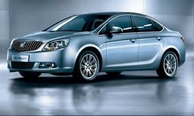 The next generation of China's Buick Excelle GT is due in the United States. (Photo courtesy of General Motors.)
