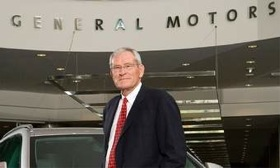 GM executive Ed Whitacre. (Photo courtesy of GM.)