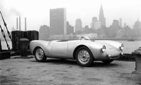 A Porsche 550 Spyder, one of the first Porsches in the United States. (Photo courtesy of AutoWeek.)