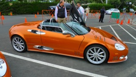The Spyker C8 Spyder SWB. (Photo by Josh Condon.)