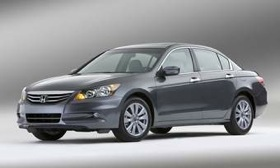 Small changes in aerodynamics and engine friction help boost the fuel economy of the 2011 Honda Accord. (Photo courtesy of Honda.)