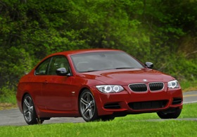 The BMW 335is coupe. (Photo courtesy of BMW.)
