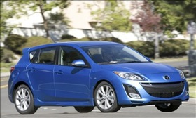 The Mazda3. (Photo courtesy of Mazda.)