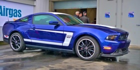 The Ford Boss Mustang. (Photo by Josh Condon.)