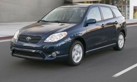 NHTSA opened a preliminary evaluation of Toyota Matrix, shown, and Corolla stalling complaints in November. (Photo courtesy of AutoWeek.)