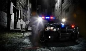 The 2011 Dodge Charger police car is available for order in September. (Photo courtesy of Dodge.)