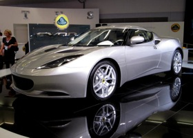 The Lotus Evora. (Photo via CBS News.)