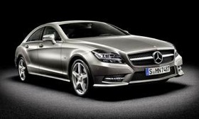 The restyled and re-engineered Mercedes-Benz CLS debuts at the Paris motor show next month and goes on sale here in 2011. (Photo from Mercedes-Benz.)
