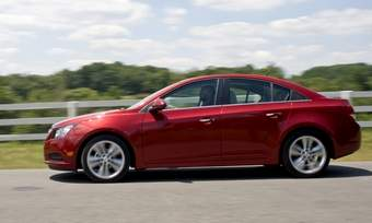 The Chevrolet Cruze goes on sale in the United States in late September. (Photo courtesy of Chevrolet.)