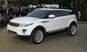 The Range Rover Evoque goes on sale in fall 2011. (Photo courtesy of AutoWeek.)