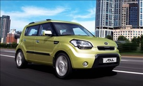 The 2010 Kia Soul. (Photo courtesy of Kia Motors.)