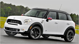 The 2011 MINI Countryman. (Photo by Mark Elias/Bloomberg News.)