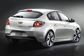 The hatchback version of the Chevy Cruze.