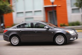 The 2011 Buick Regal. (Photo courtesy of Buick.)