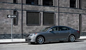 The Hyundai Equus. (Photo via Wired.)