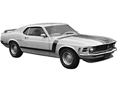 The 1970 Boss 302 Ford Mustang. (Image via Consumer Reports.)