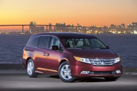 The 2011 Honda Odyssey. (Photo courtesy of Honda.)