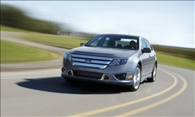 The 2010 Ford Fusion. (Photo courtesy of Ford Motor Co.)