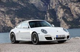 The Porsche 911 Carrera GTS, the newest addition to the 911 lineup, gets a revised version of the 3.8-liter horizontally opposed six-cylinder boxer engine found in the Carrera S. (Photo courtesy of Porsche.)