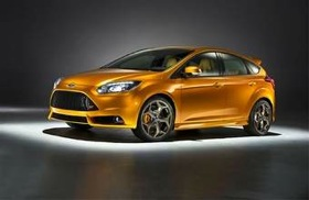 The Ford Focus ST. (Photo courtesy of Ford.)