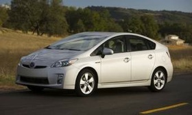 The Toyota Prius. (Photo courtesy of Toyota.)