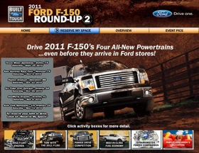 The Built Ford Tough Tour kicks off on September 25th in Texas. (Image courtesy of Ford Motor Company.)