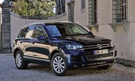 The redesigned Touareg SUV goes on sale in November. A diesel engine will be available. (Photo courtesy of Volkswagen.)