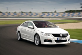 The Volkswagen CC sedan. (Photo courtesy of Volkswagen.)