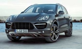 The redesigned Cayenne went on sale this year. A hybrid comes in 2011. (Photo courtesy of Porsche.)