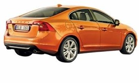 The redesigned Volvo S60 targets luxury import sedans. (Image courtesy of Volvo.)