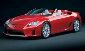 After Lexus builds the current batch of 500 LFA coupes, there could be a one-year hiatus. (Image courtesy of Lexus.)