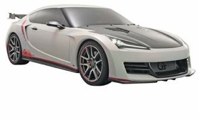 The FT-86, developed with Subaru, is set for a spring 2012 launch. Shown is the Gazoo Racing version seen at the Tokyo Auto Salon in January. (Image courtesy of Toyota.)