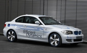The BMW ActiveE 1-Series will be coming to various cities in California, as well as New York, Boston, and some parts of Connecticut. (Image from Car and Driver.)
