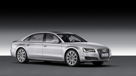 The Audi A8L. (Photo courtesy of Audi.)